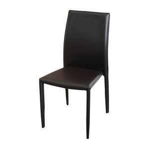 Jedálenská stolička ADRIA hnedá