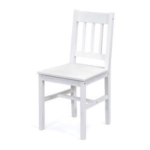Jedálenská stolička PALMIRO biely lak