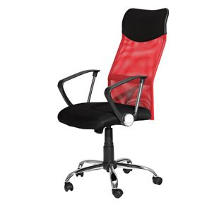 Kancelárske kreslo PREZIDENT červené K56